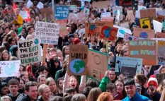 children climate march
